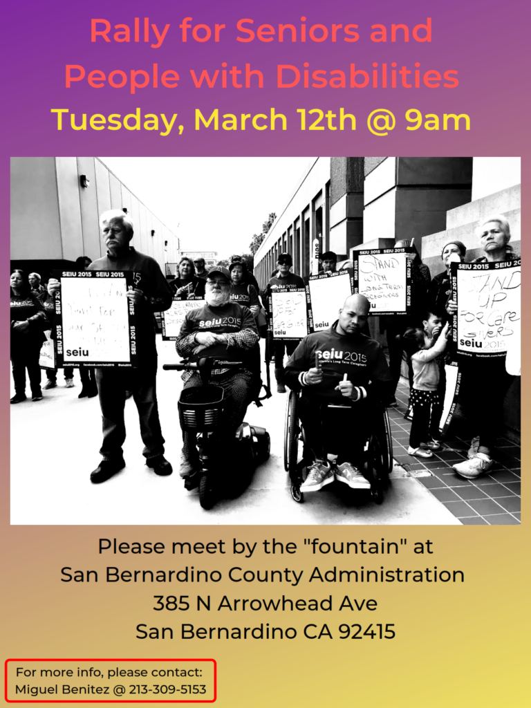 Support Our County Healthcare Workers – San Bernardino